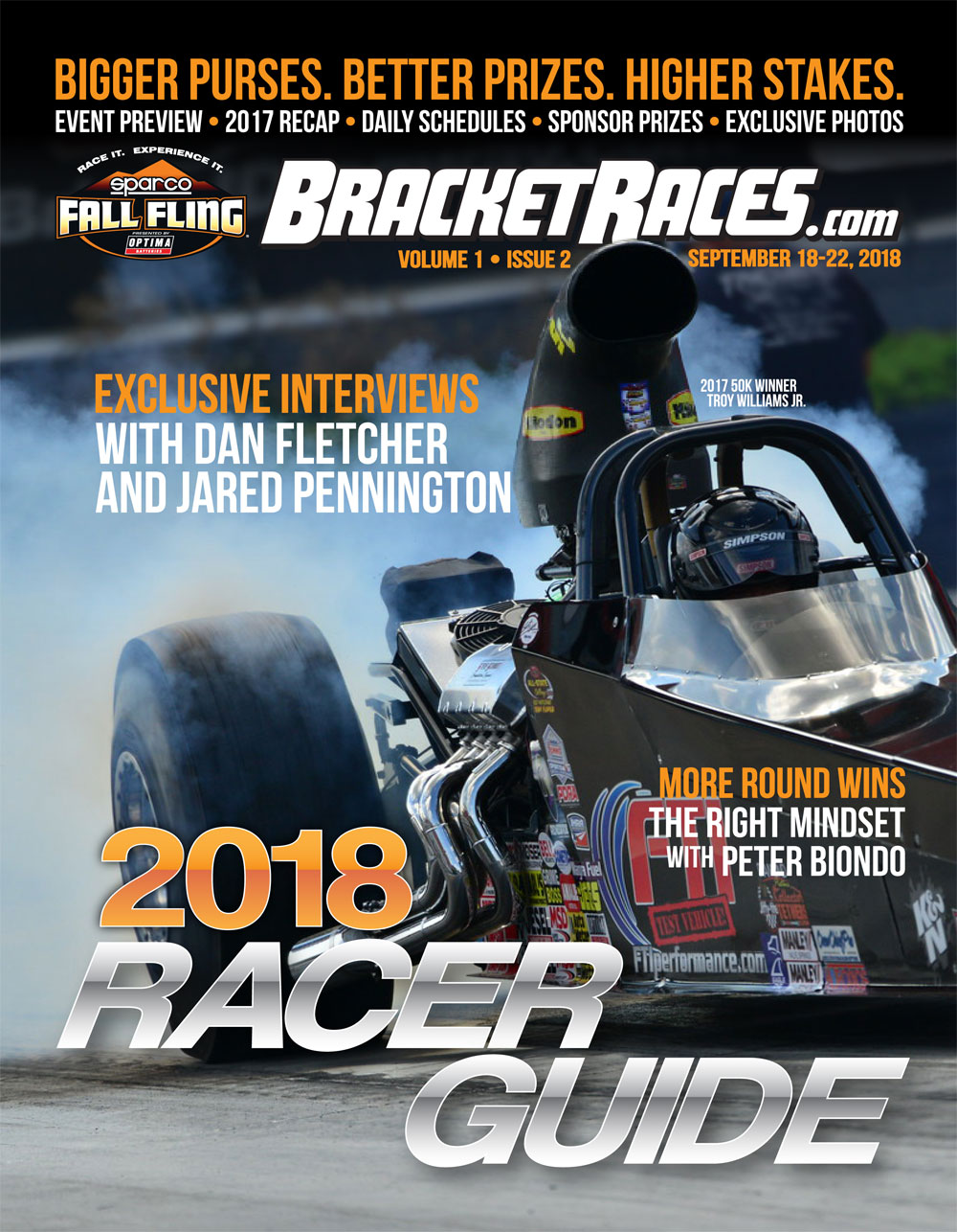 2018 Fall Fling Bristol Racer Guide page 1