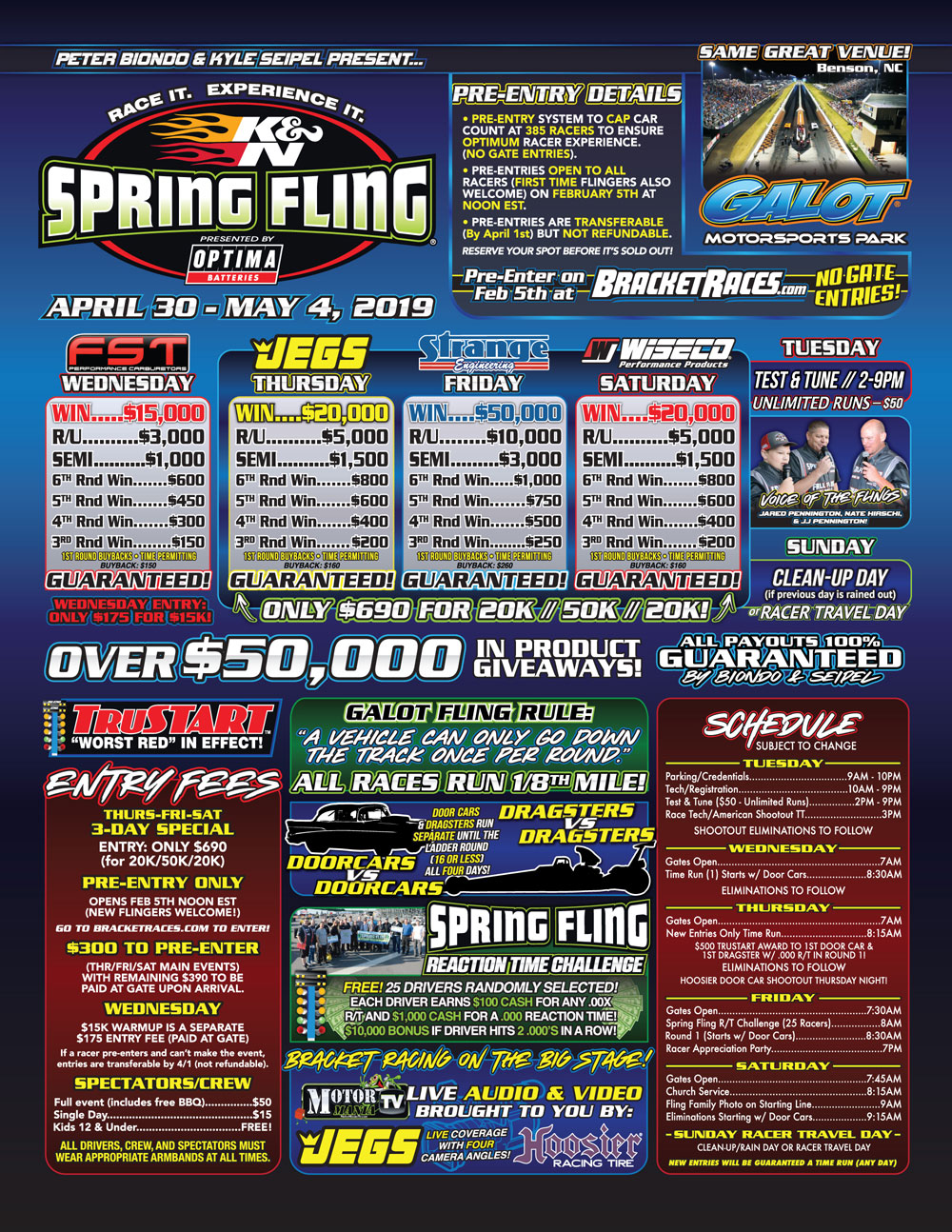 2019 Spring Fling Galot Flyer - Page 1