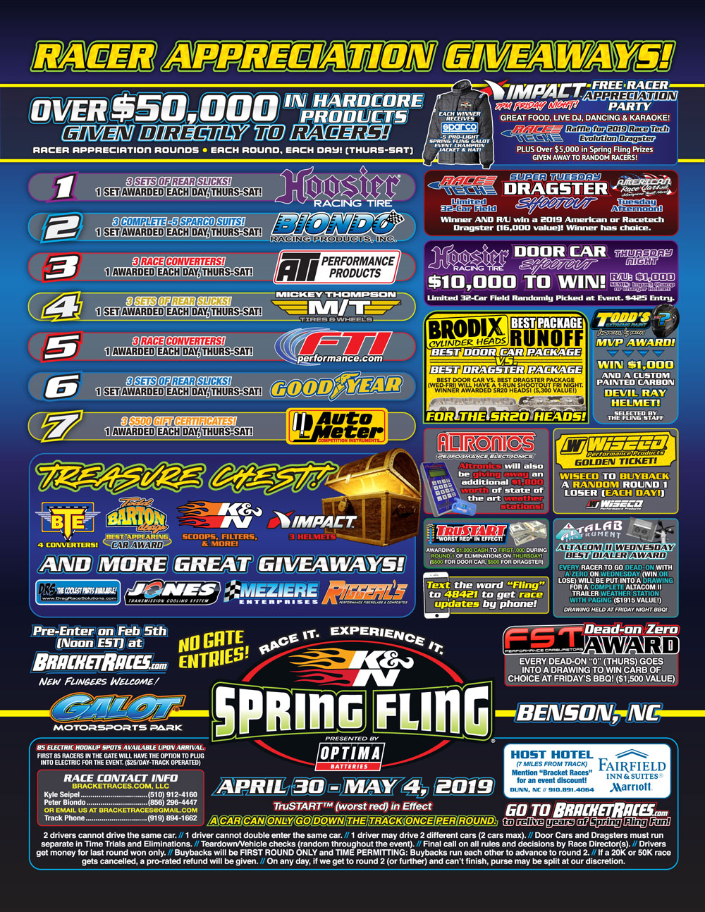 2019 Spring Fling Galot Flyer - Page 2