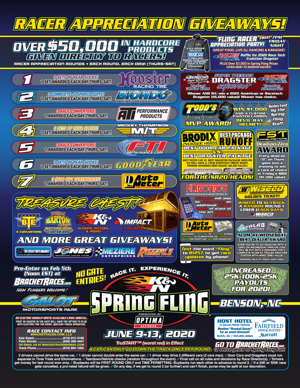Spring Fling Galot 2020 Flyer Page 2