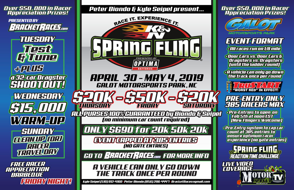 Spring Fling Galot Flyer