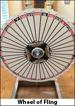 Wheel of fling